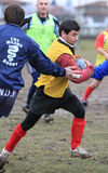 Rugby�s Albanian national team born in Italy Stock Image
