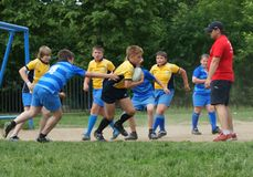 Rugby Royalty Free Stock Photos
