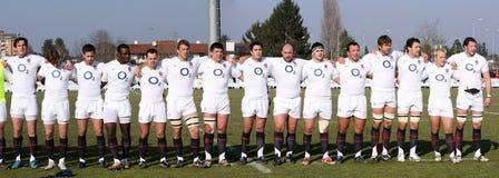 Rugby 2010 das nações de RBS 6; Italy A contra saxões de Inglaterra Fotos de Stock Royalty Free