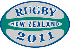 Rugby 2011 new zealand Stock Image