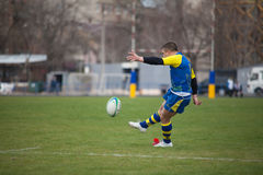 Rugby Photographie stock