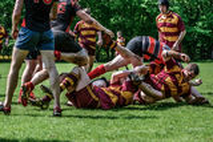 Rugby Foto de archivo libre de regalías