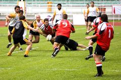 Rugby image stock