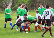Rugby in Action Royalty Free Stock Photos