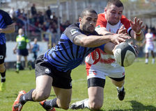 Rugby action Stock Photography