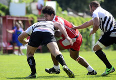 Rugby action Royalty Free Stock Photography