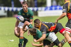 Rugby Action Schools Stock Images