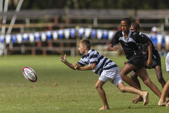 Rugby Action Schools Stock Photos