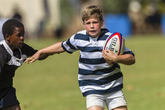 Rugby Action Schools Royalty Free Stock Photos