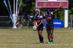 Player Kick Start Rugby Outeniqua Royalty Free Stock Photos