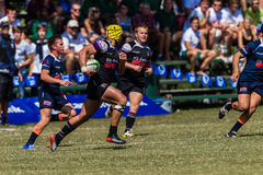 Player Forward Ball Rugby Outeniqua Stock Image