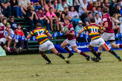 Player Running Ball Rugby Kearsney Stock Photos