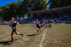 Rugby Outeniqua Unbeaten Run-Out Stock Photography