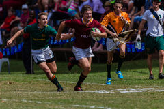 Players Ball Running Rugby Paul Roos Royalty Free Stock Photos