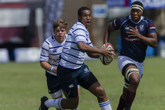 Rugby Action 1st Teams High Schools Royalty Free Stock Photos