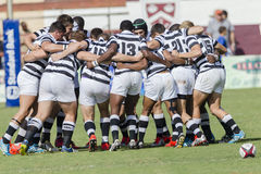 Rugby Action 1st Teams High Schools. Selborne High school 1st teams rugby action Kearsney College Rugby festival Botha Hill Durban South Africa Stock Photos