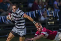 Rugby Action 1st Teams High Schools. Selborne High school 1st teams rugby action Kearsney College Rugby festival Botha Hill Durban South Africa Stock Images