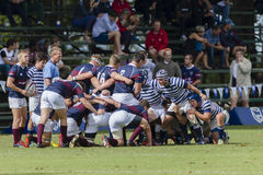 Rugby Action 1st Teams High Schools Royalty Free Stock Images