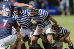 Rugby Action 1st Teams High Schools Stock Photos