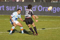 Rugby akcja Obrazy Stock