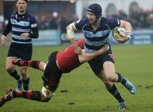 Rugby akcja Obraz Stock