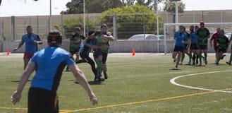 Rugby amator fotografia stock
