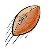 Rugby (american football) ball Stock Images