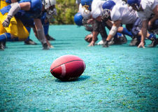 Rugby, American football Royalty Free Stock Image