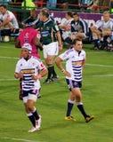 Rugby Aplon e Duvenage Sudafrica 2012 Fotografie Stock