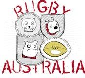 Rugby australian team Stock Photos
