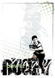 Rugby background 2 Royalty Free Stock Photo