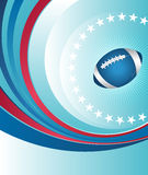 Rugby background template Royalty Free Stock Image
