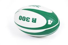 Rugby ball. Isolated on white background Stock Image