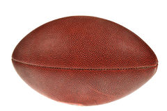 Rugby ball. On white background royalty free stock photography