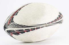 Rugby ball. On white background royalty free stock images