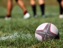 Rugby ball Royalty Free Stock Photos