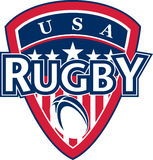 Rugby ball american usa Royalty Free Stock Photography