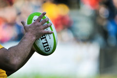 Rugby ball Stock Images