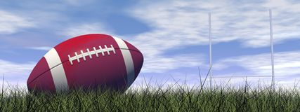 Rugby ball - 3D render