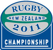 Rugby ball new zealand 2011 Royalty Free Stock Images