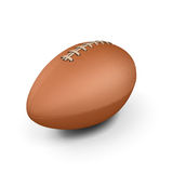 Rugby ball  on white. Royalty Free Stock Image
