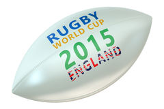 Rugby Ball World Cup England concept Stock Photo
