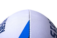 Rugby ball world cup for 2015 vertically close-up Royalty Free Stock Images