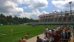 Rugby BiaÅ 'ystok stock foto