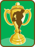 Rugby championship cup Royalty Free Stock Images