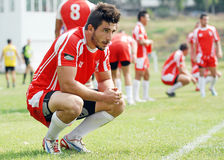 RUGBY: CSM BUCHAREST-DINAMO BUCHAREST Stock Images