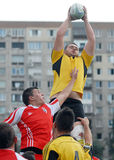 RUGBY: CSM BUCHAREST-DINAMO BUCHAREST Royalty Free Stock Image