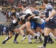 Rugby das nações de ERB seis - Italy contra Scotland Foto de Stock