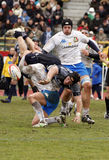 Rugby das nações de ERB seis - Italy contra Scotland imagens de stock royalty free