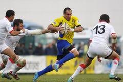 Rugby de Romênia-Geórgia foto de stock royalty free